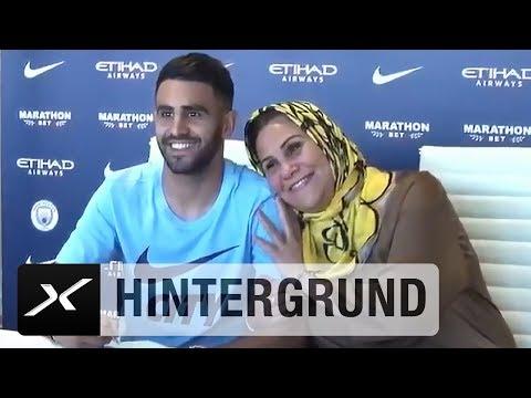Riyad-Mahrez-Porträt: Mit Mama bei der PK | Premier League | Highlights | Manchester City |  SPOX