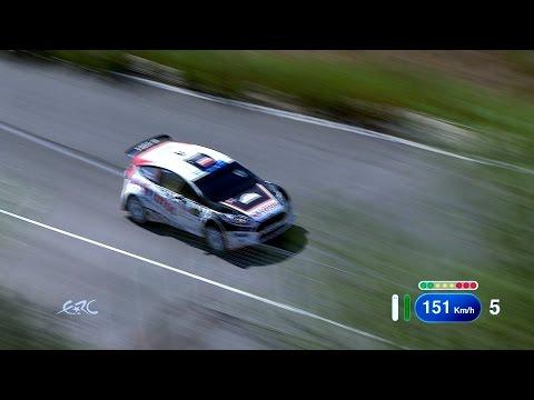 FIA ERC Asfalistiki Cyprus Rally 2014 - Kajetanowicz on SS3
