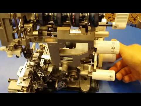 Brother Serger Overlocking machine stripped down
