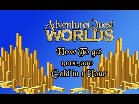 AQWorlds Fastest Way to get Gold 2013
