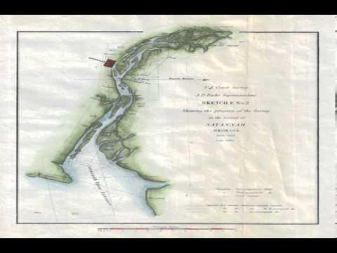 georgia savannah river map