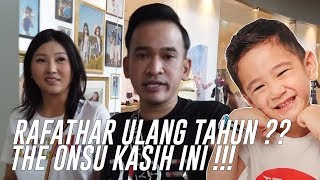 Video The Onsu Family - RAFATHAR ULANG TAHUN ?? THE ONSU KASIH INI !!!! MP3, 3GP, MP4, WEBM, AVI, FLV Agustus 2019