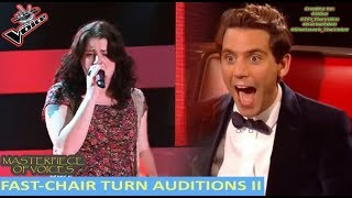 Video FASTEST CHAIR TURN AUDITIONS IN THE VOICE [PART 2] MP3, 3GP, MP4, WEBM, AVI, FLV Mei 2018