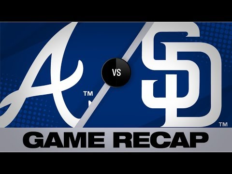 Video: Albies, Flowers lift Braves in extras | Braves-Padres Game Highlights 7/13/19