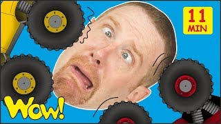 Toy Cars for Kids from Steve and Maggie + MORE Stories and Lessons   Free Speaking Wow English TV