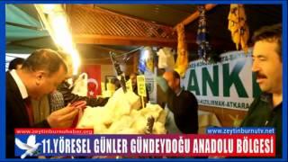 CHPİlçe Başkanı Metin Doğan Yöresel Stantları gezdi