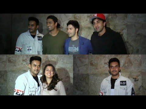 Screening Of Badrinath Ki Dulhaniya For Ranbir Kapoor