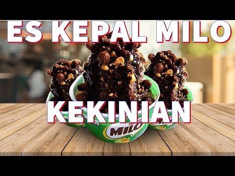 Begini cara mudah bikin es kepal Milo, minuman kekinian yang lagi hits
