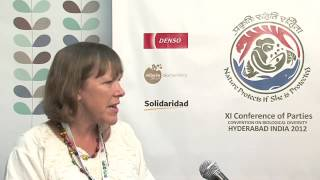 Rio Convention Pavilion TV, CBD COP11 (12/10/2012) - Judy Loo, Theme Leader of the Forest Genetic Resources Programme at Bioversity International, ...