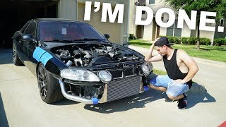 I'm quitting the 1JZ build...Let me explain by Evan Shanks