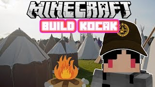Video Minecraft Indonesia - Build Kocak (42) - Perkemahan! MP3, 3GP, MP4, WEBM, AVI, FLV Desember 2017