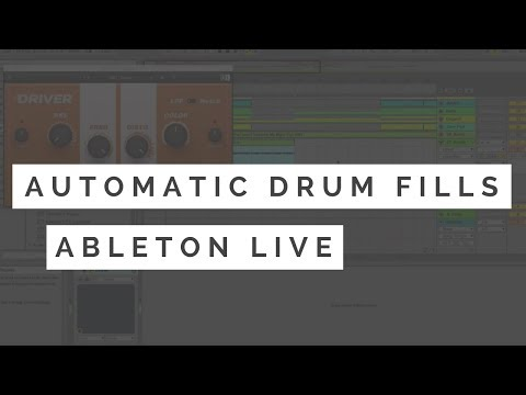 Ableton Drum Programming Tips - Automatic Drum Fills