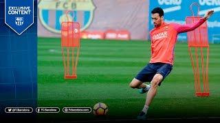 【練習中に魅せる!】FCバルセロナのセルヒオ・ブスケツの華麗なテクニック!! | socsoc(サクサク)