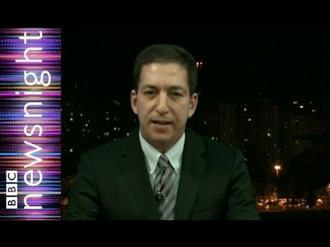 Glenn Greenwald full interview on Snowden, NSA, GCHQ and spying - Newsnight