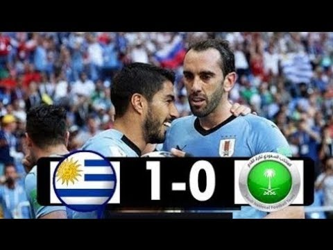Uruguay vs Saudi Arabia 1 - 0  20/06/2018 , FIFA  World Cup 2018
