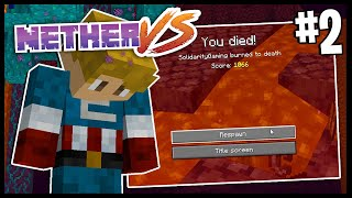 I LOST EVERYTHING!?   Nether Vs   Minecraft 1.16 Nether Challenge   #2