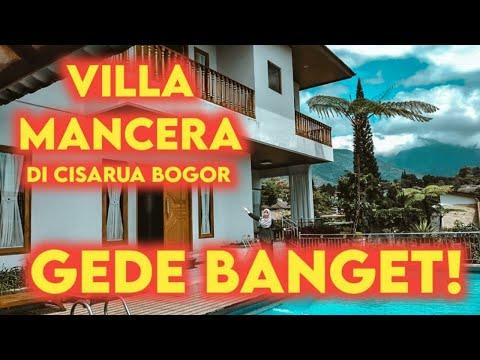 villa puncak cisarua bogor,villa mancera