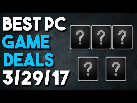 Top 5 PC Game Deals of the Week 3/29/17 - Humble Bundle, The Witcher and More!