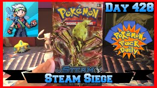 Pokemon Pack Daily STEAM SIEGE Booster Opening Day 428 - Featuring MiNTYDERPZ by ThePokeCapital
