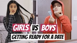 Video Girls VS Boys: Getting Ready For A Date MP3, 3GP, MP4, WEBM, AVI, FLV Maret 2019
