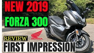 3. 2019 HONDA FORZA 300 | Review | first impression