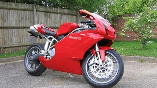 2. 2004 Ducati 749S Monoposto. Engine revved to full RPM (EDIT)