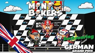Two wheels? Double emotion! MiniBikers are back with the eighth season and will bring you the best highlights of your favorite MotoGP races. Enjoy the ultimate battle for the championship with the unique touch of the Minis.MotoGP will have now the summer break after a crazy German GP which was won by Marc Marquez. The Spaniard is now the championship leader of a great battle for the crown of World Champion of the 2017 MotoGP season, but the surprise at Sachsenring was Jonas Folger who was leading some laps of the race and could achieve his 1st ever MotoGP podium. Discover the secrets of the German GP with your favorite characters and enjoy the relax of the summer break like what our riders will do.- - - - - - - - - - - - - - - - -- - - FOLLOW US - - -- - - - - - - - - - - - - - - - -FACEBOOKMiniDrivers - F1: https://www.facebook.com/officialminidrivers/MiniBikers - MotoGP: https://www.facebook.com/officialminibikersMinEDrivers - Formula E : https://www.facebook.com/officialminedriversMindyDrivers - Indycar: https://www.facebook.com/mindydrivers/TWITTEREnglish: https://twitter.com/officialminisEspañol:https://twitter.com/officialminisESTELEGRAMChannel: https://telegram.me/officialminisGroup: https://telegram.me/officialministelegram- - - - - - - - - - - - - - - - - - - - VIDEOGAME - - -- - - - - - - - - - - - - - - - - MINIDRIVERS - VIDEOGAMEiOS: https://itunes.apple.com/app/id873538439?mt=8Android: https://play.google.com/store/apps/details?id=com.minidrivers.formula1.comOSX: https://itunes.apple.com/us/app/minidrivers-game-mini-racing/id994431876?mt=12Steam: http://store.steampowered.com/app/385490/MINIBIKERS - VIDEOGAMEiOS: https://itunes.apple.com/app/id1015922561?mt=8Android: https://play.google.com/store/apps/details?id=com.miniBikers.bikesOSX: https://itunes.apple.com/app/id1022820730?mt=12Steam: http://store.steampowered.com/app/416350/- - - - - - - - - - - - - - - - - - - - - -- - - MERCHANDISING - - -- - - - - - - - - - - - - - - - - - - - - -Merchandising: MiniDrivers - http://bit.ly/storeminidriversMiniBikers - http://bit.ly/storeminibikersMinEDrivers - http://bit.ly/storeminedrivers©2017 - MiniDrivers, MiniBikers & MinEDrivers - MediaChannel Entertainmentwww.losminidrivers.com
