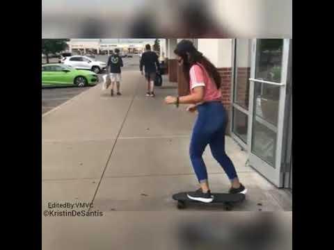 skater girl epic fail