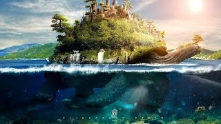 Video Tutorial  Photoshop   Underwater Turtle Island MP3, 3GP, MP4, WEBM, AVI, FLV Juni 2019