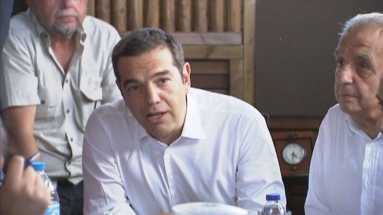 Αλ. Τσίπρας: Θα δώσουμε μαζί τη μάχη για να ξαναγεννηθεί το Μάτι