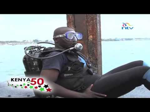 Kenya At 50: Woman naval diver