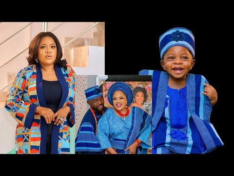 Toyin Abraham Son Ireoluwa Launch His Business, For The First Time Toyin Finally Show Ire's Face