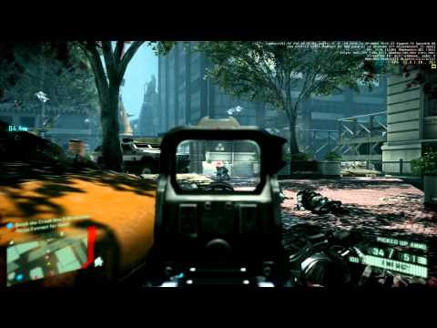 Crysis 2 Gameplay 1680x1050,advanced...AVG 46 fps... My Spec: AMD Phenom(tm) ...