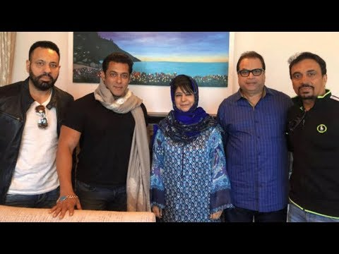 Salman Khan Meets Jammu And Kashmir Chief Minister
