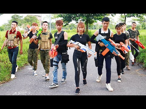 Video Superhero action S.W.A.T Sniper Nerf guns Kidnapper Lance Knight Rescue Brother Nerf war download in MP3, 3GP, MP4, WEBM, AVI, FLV January 2017