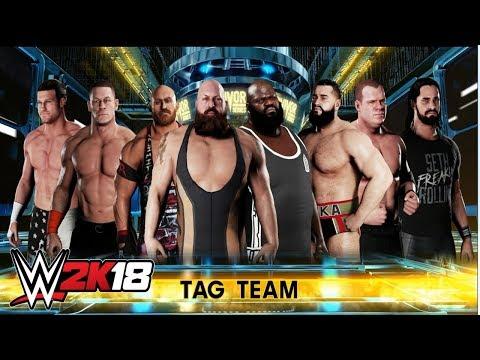 Team Cena vs Team Authority - WWE2K18 SIMULACIÓN - Survivor Series 2014
