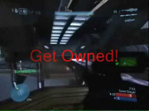 Funny Halo 3 No Scope,No Ovys 4 U!