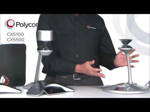 Polycom CX5100 / CX5500 Overview - VISITELECOM