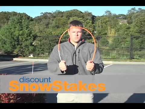 Discount Snow Stakes - http://discountsnowstakes.com/