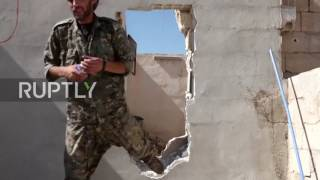 The offensive against the self-proclaimed Islamic State (IS, formerly ISIS/ISIL) continued in Hawi Alhawa, west of Raqqa on Thursday. Video ID: 20170713-050 ...