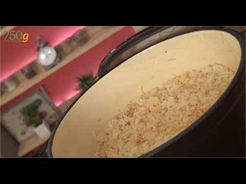 riz - Le riz pilaf est un riz qui se cuit au four, un grain onctueux, jamais collant, et plein de saveur ! Une astuce pour le réussir à coup sur... Abonne-toi à la...