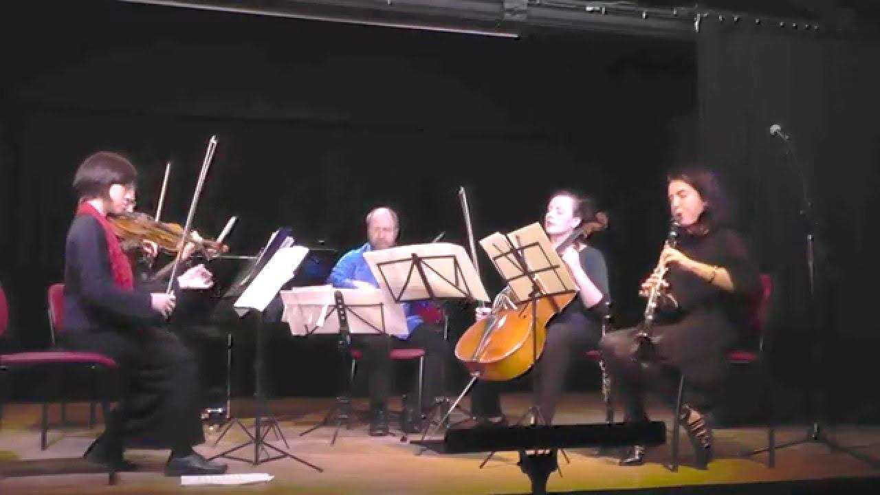 Alexander Krein. Esquisses hébraïques. Op. 12. Nigunim La-Ad Ensemble (K. Goldenzweig (clarinet), E.Yanovitsky and T. Malkin (violin), A. Boazson (Viola), Y. Donichev (Cello). Jerusalem, 2015