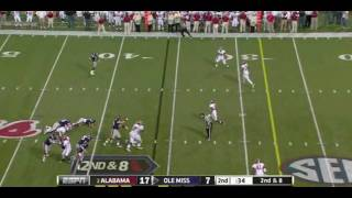 Bobby Massie vs Alabama 2011