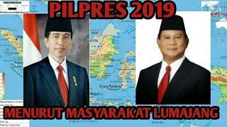 Download Video JOKOWI ATAU PRABOWO PRESIDEN 2019 - MENURUT MASYARAKAT LUMAJANG (SOSIAL EKSPERIMEN)!!! MP3 3GP MP4