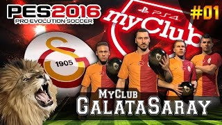 PES 2016 ★ MyClub Galatasaray ★ #01 | Ibrahimović, Neymar, Podolski, Agüero TRANSFER BOMBASI | PS4, neymar, neymar Barcelona,  Barcelona, chung ket cup c1, Barcelona juventus