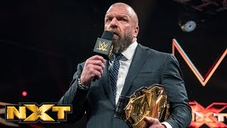 Nonton Triple H announces that Tommaso Ciampa has relinquished the NXT Title: WWE NXT, March 20, 2019 Film Subtitle Indonesia Streaming Movie Download