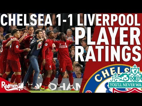 Sturridge Gets A 10! | Chelsea V Liverpool 1-1 | Player Ratings