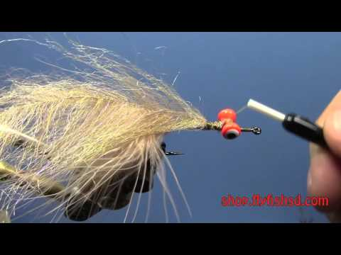 Fly Tying-   EP Brush Home Invader (видео)
