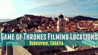 Dubrovnik Croatia  city images : Dubrovnik, Croatia   Game of Thrones Locations