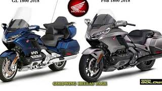 7. New  Release 2018 Honda Gold Wing shows off new suspension hints at DCT